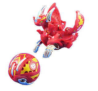 Бакуган Bakugan - Lumino Dragonoid