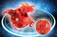 Бакуган Bakugan - Cyclone Dragonoid