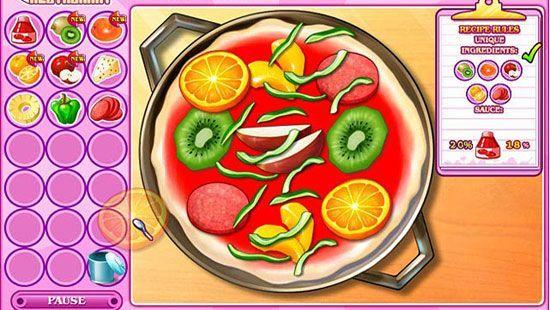 игры приготовления еды кухня сары новые рецепты