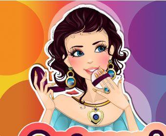 Игры для девочек макияж красить самим