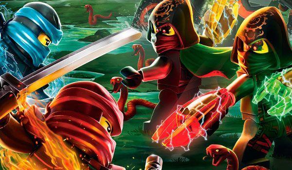 Игра Лего ниндзяго: последняя битва - играть онлайн бесплатно