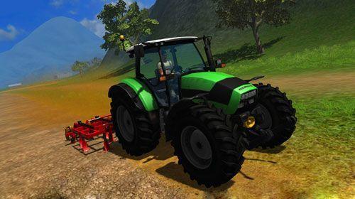 Игра фермер на тракторе играть