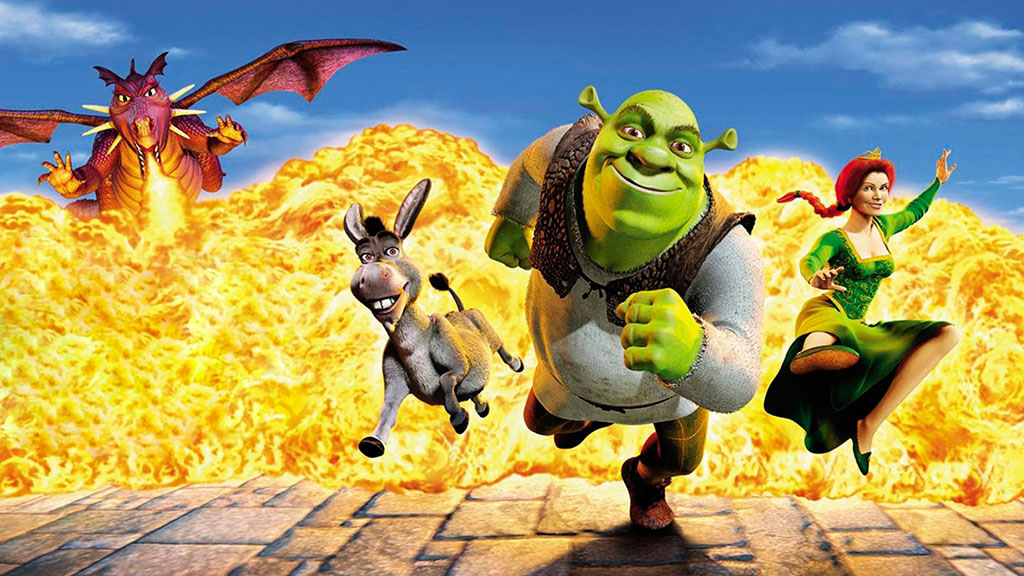 an analysis of the story behind shrek a popular movie The movie begins just before shrek rescues princess fiona in shrek desperate to lift their daughter's curse, king harold and queen lillian meet with con artist.