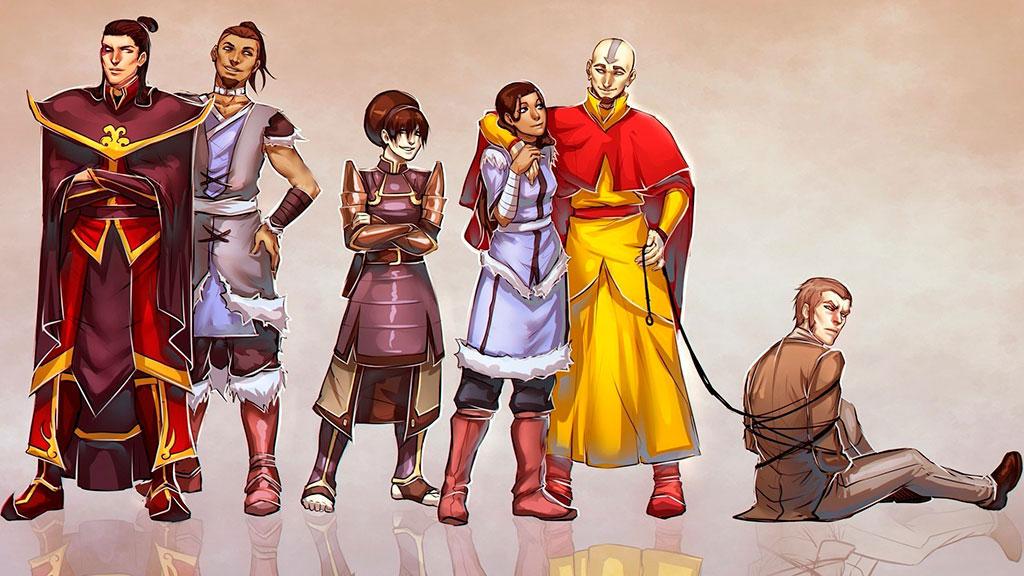 Avatar, Legenda Lui Aang - Desene Animate Online