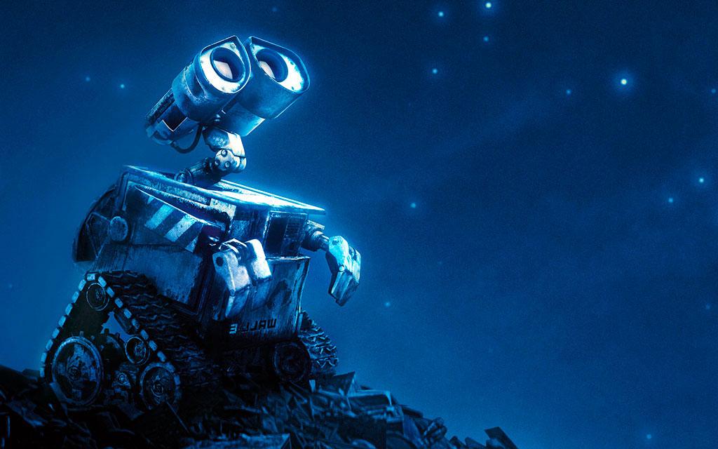 WALL-E Font - GALAX-E font from the David Occhino