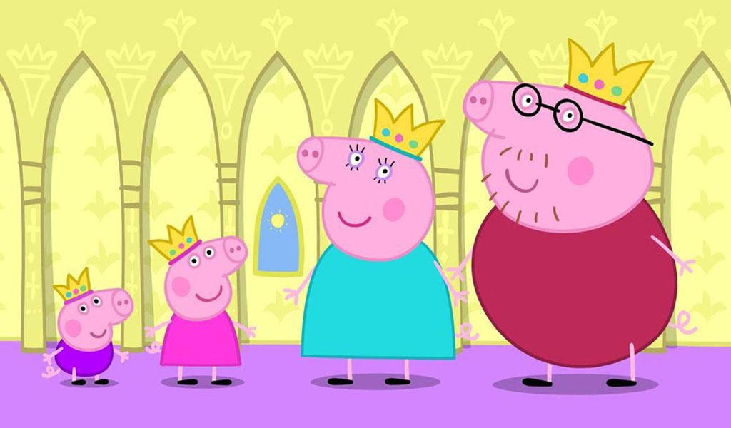 атрибутами картинка свинка свинка пеппа заднем плане самые