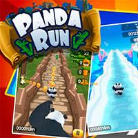Игра Subway surfer panda