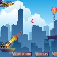 Игра Стрелялки из пушки онлайн