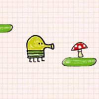 Игра Дудл Джамп c грибами