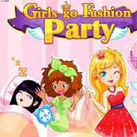 Игра Одевалки на вечеринку