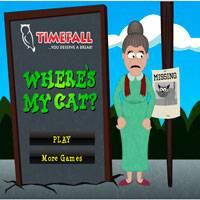 Игра Где же кот