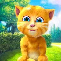 Игра <i>котёнок</i> Говорящий кот рыжик