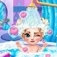 Игра Мыть детей