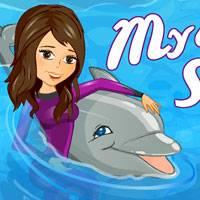 Игра Выступает дельфин 1