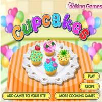 Игра Готовить кексы