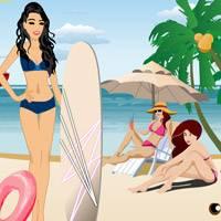 Игра Приключения русалочки 2: На пляже