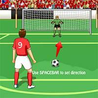 Игра Пробить пенальти