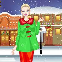 Игра Зимняя одевалка для девочек