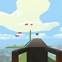 Игра Пулемет на хвосте самолета онлайн