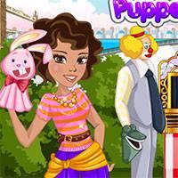 Игра Девочки на кукольном фестивале