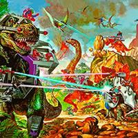 Игра Война динозавров