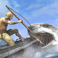 Играть акула ест людей