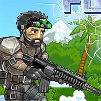 Игра Спецназ в джунглях онлайн