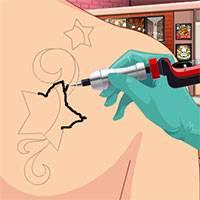 Игра Потрясный художник татуировки 2