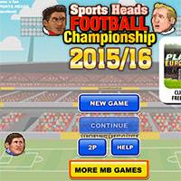 Игра Футбольные головы чемпионат 2015