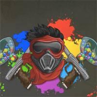 Игра Крутая стрелялка красками онлайн