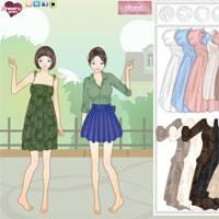 Игра Для девочек про одевалки на двоих