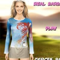 Игра Одевалка для настоящей Барби