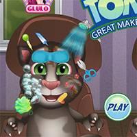 Кот том малыш играть онлайн