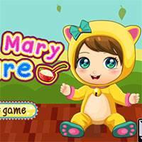 Игра Уход за малышкой Мэри онлайн