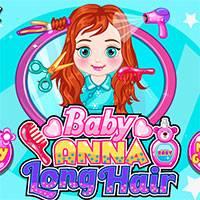 Игра Прическа маленькой Анны