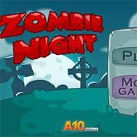 Игра Ночь зомби онлайн