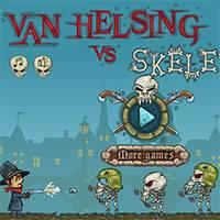 Игра Ван Хельсинг против скелетов онлайн