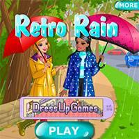 Игра Ретро дождь
