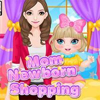 Игра Шопинг мамы и малыша онлайн