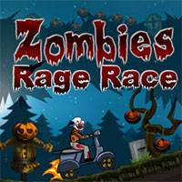 Играть гонки на двоих зомби