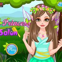 Игра Прическа феи принцессы