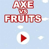 Игра Топор и фрукты онлайн