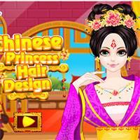 Игра Прическа китайской принцессы