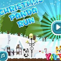 Игра Новогодняя панда онлайн