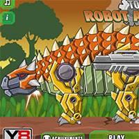 Игра Робот анкилозавр