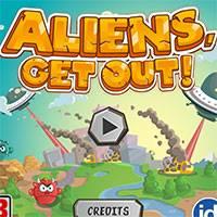 Игра Прогони инопланетян онлайн