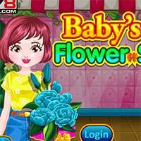 Игра Цветочный магазин девочки