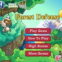 Игра Лесная защита онлайн