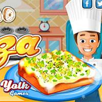 Игра Хлебная пицца онлайн