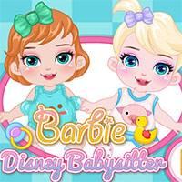 Игра Барби уход за малышкой онлайн